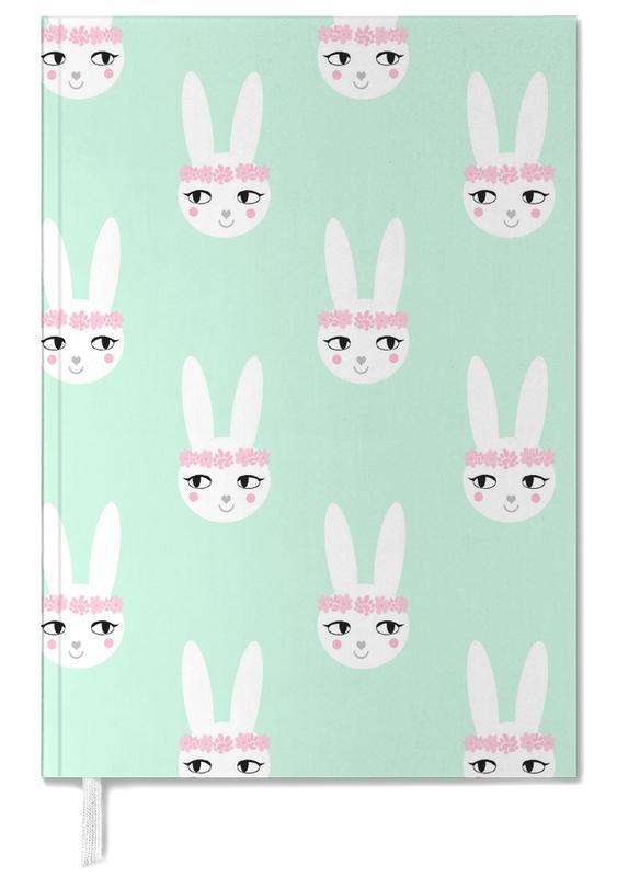 Pâques, Naissances, Lapins, Art pour enfants, Easter Bunny Mint agenda