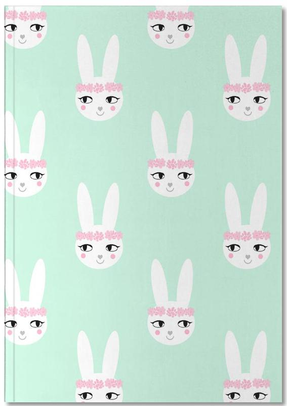 Easter Bunny Mint Notebook