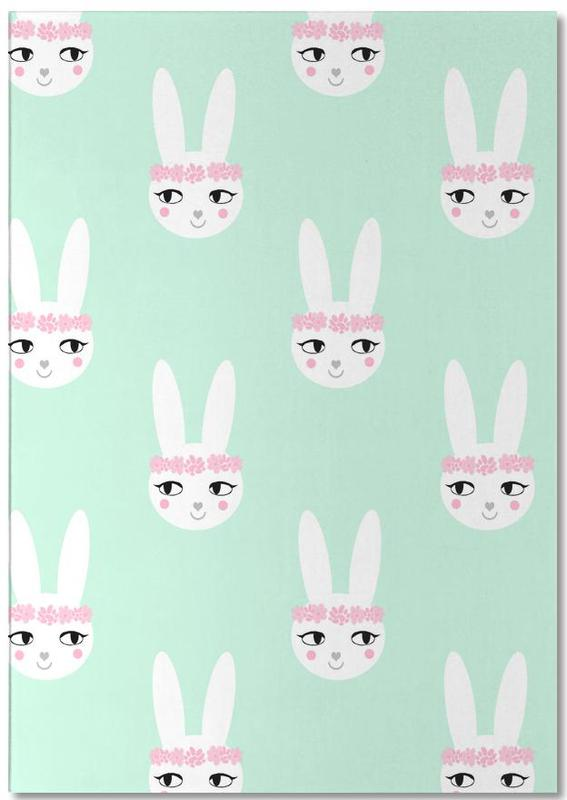 Easter Bunny Mint Notepad