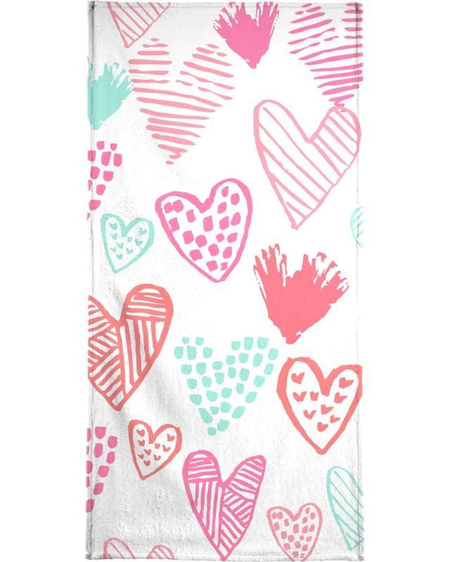 Valentines Pretty Bath Towel