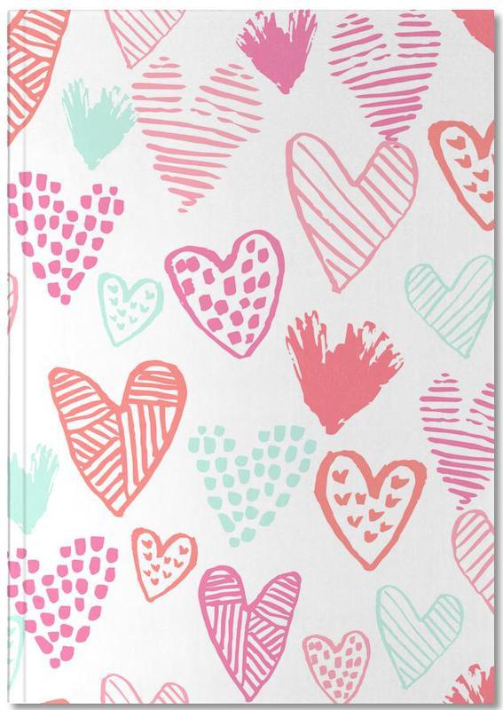 Mother's Day, Valentine's Day, Hearts, Anniversaries & Love, Valentines Pretty Notebook