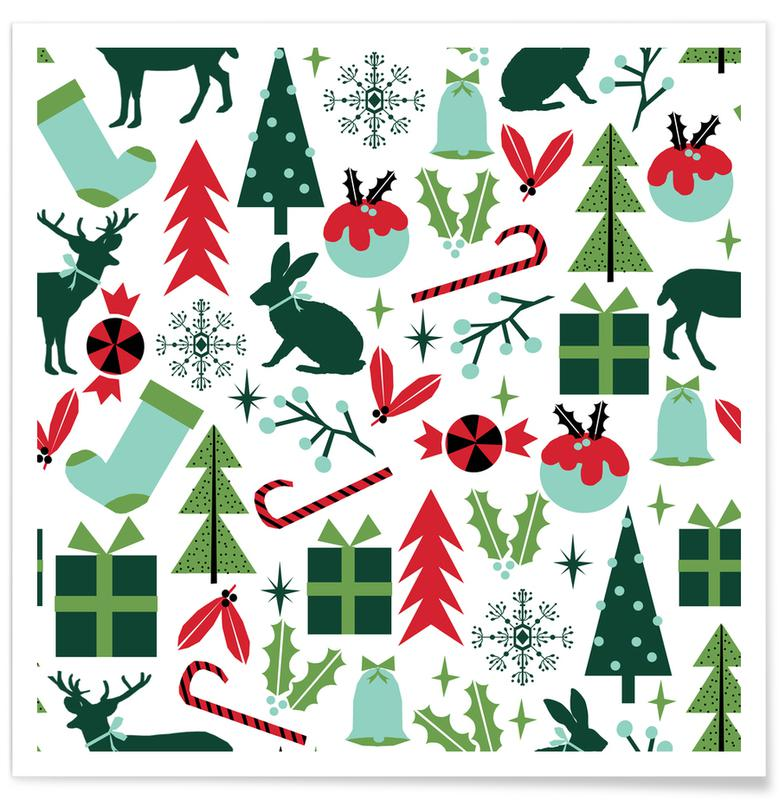 Kerst, Christmas poster