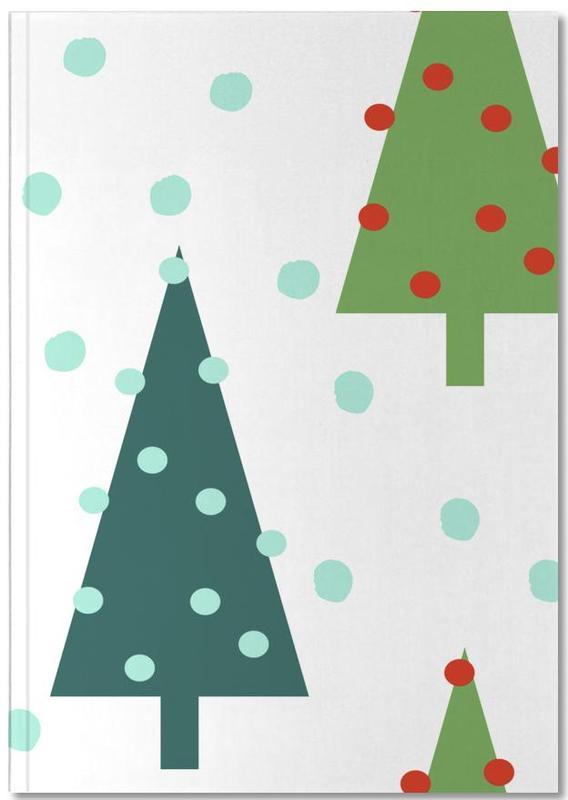 Christmas, Christmas Tree Notebook