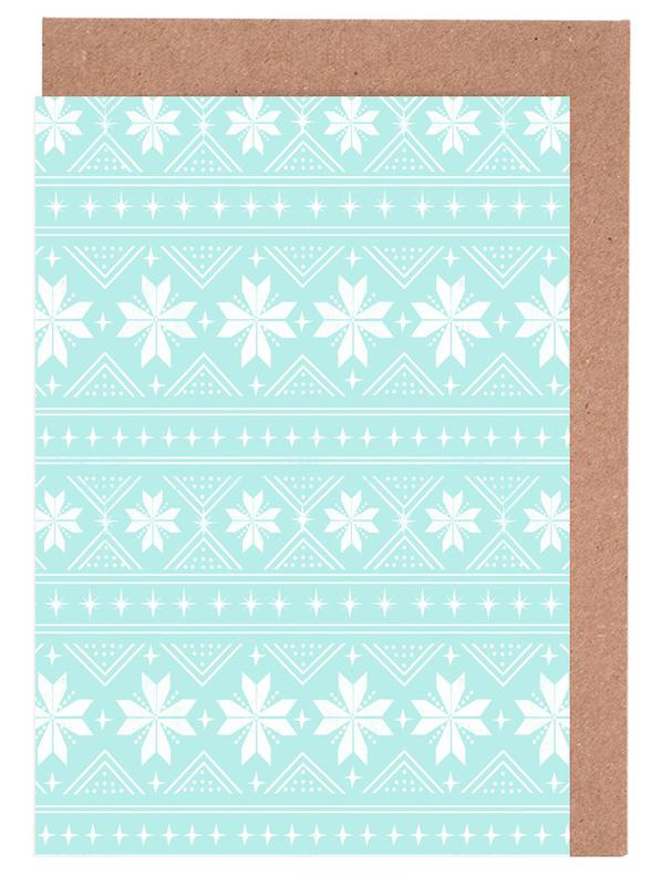 Christmas Sweater Greeting Card Set