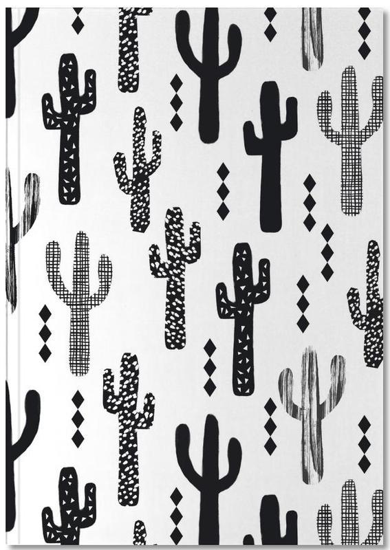 Cacti, Cactus Black Notebook