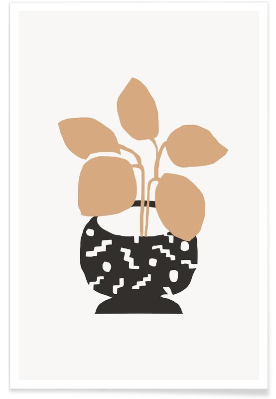 Bladeren en planten, Amethea poster