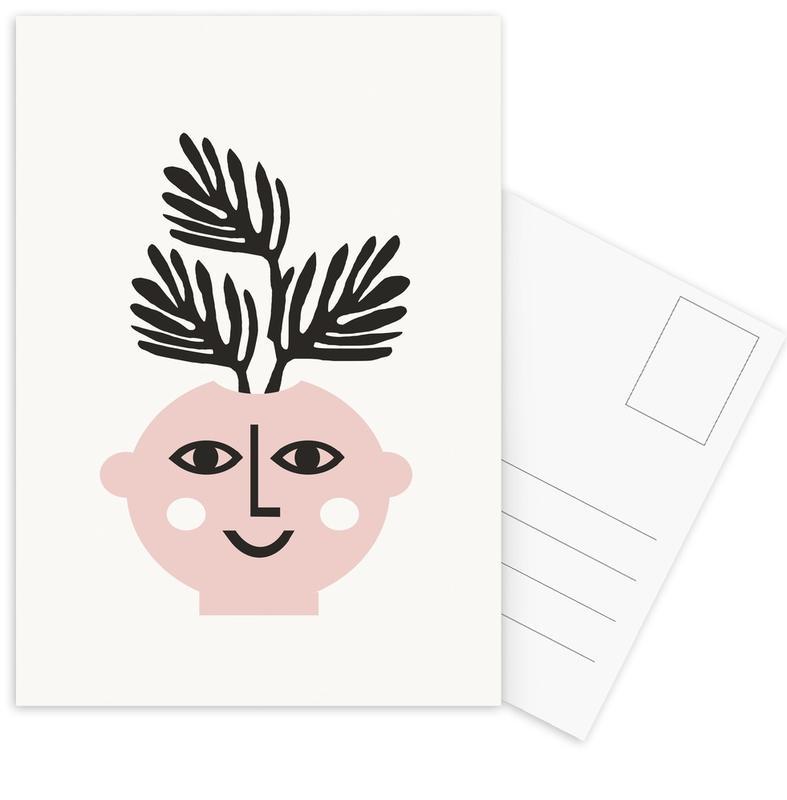Leaves & Plants, Harmonia Postcard Set