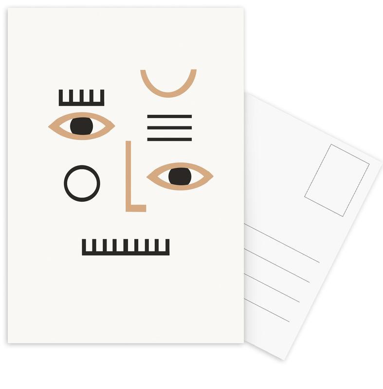 , Pleione Postcard Set