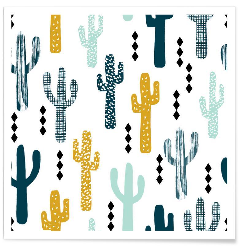 Cactussen, Cactus Mustard poster