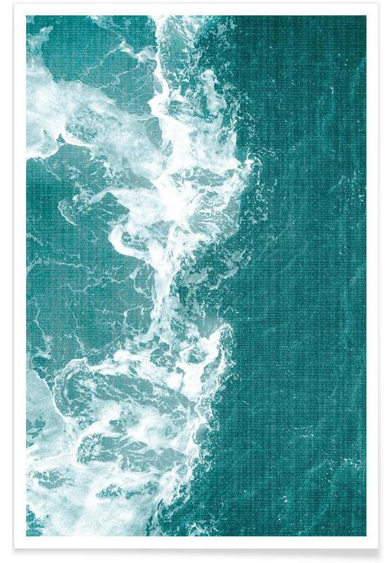 Océans, mers & lacs, Print 205 affiche