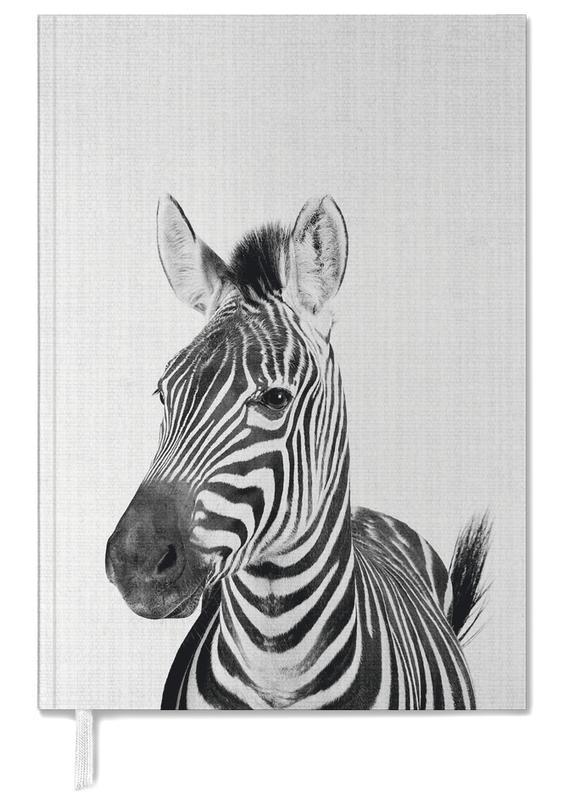 Zebras, Nursery & Art for Kids, Black & White, Print 49 Personal Planner