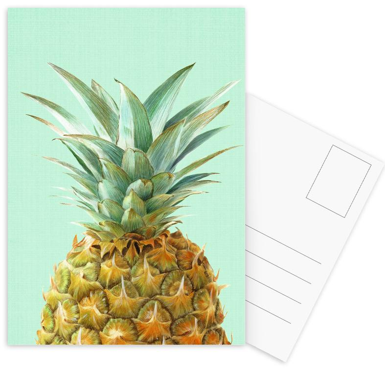 Pineapples, Print 141 Postcard Set