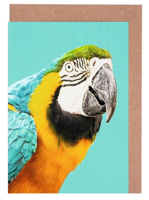 Art pour enfants, Perroquets, Print 143 cartes de vœux