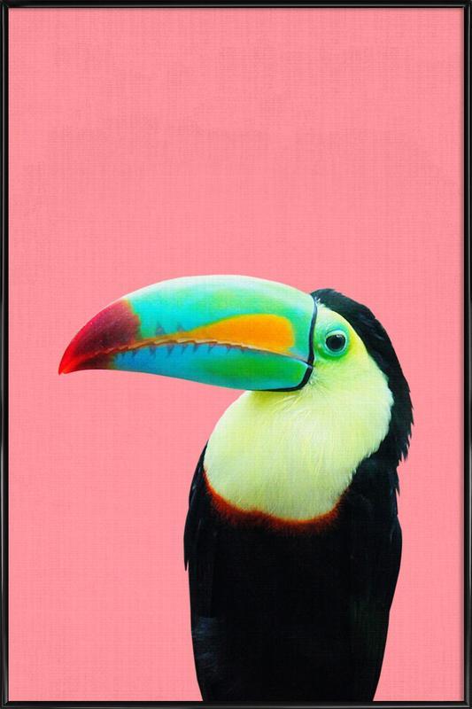Print 145 -Bild mit Kunststoffrahmen