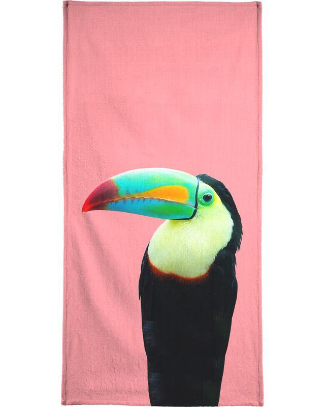 Toucans, Art pour enfants, Print 145 serviette de bain