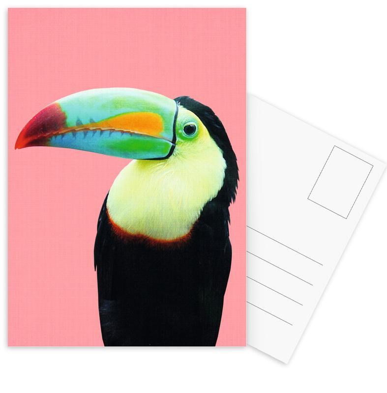 Toucans, Art pour enfants, Print 145 cartes postales