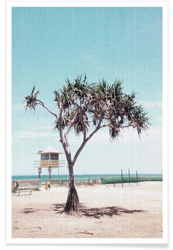 Beaches, Trees, Print 201 Poster