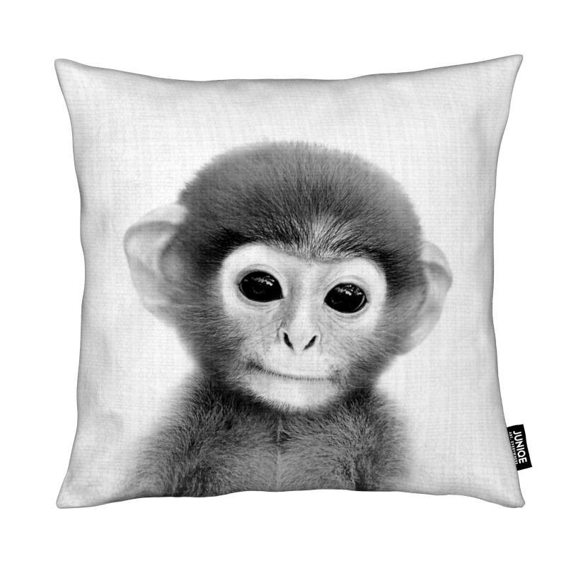 Monkeys, Black & White, Nursery & Art for Kids, Print 267