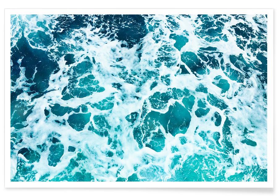 Océans, mers & lacs, Print 219 affiche
