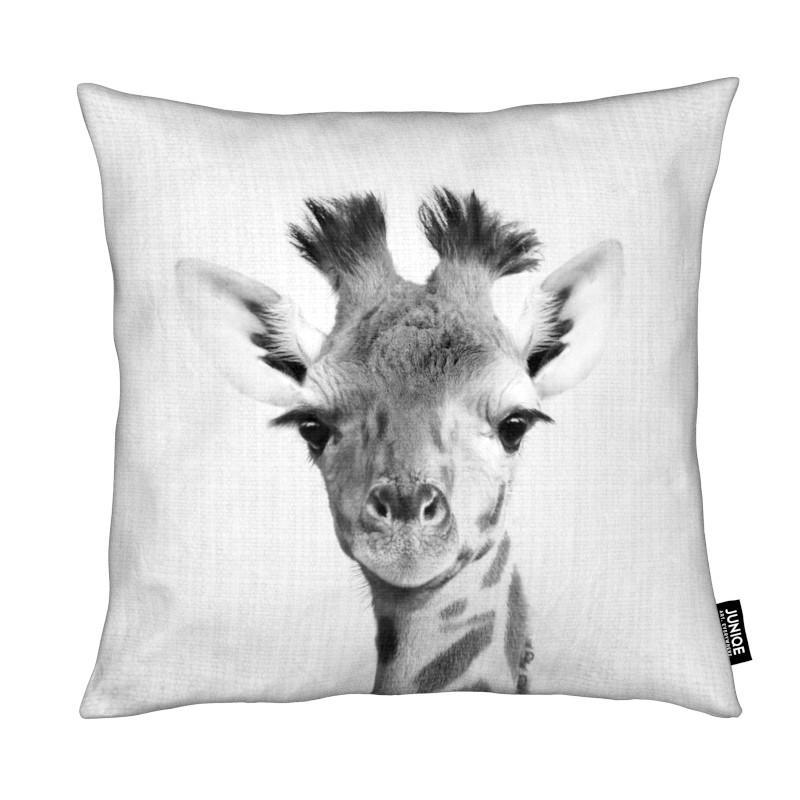 Giraffes, Black & White, Nursery & Art for Kids, Print 40