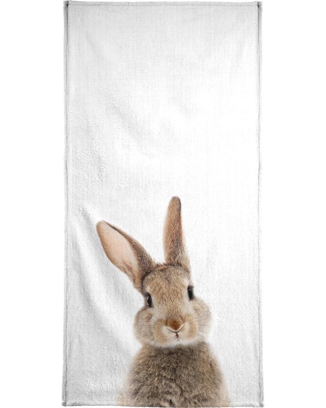 Lapins, Art pour enfants, Print 315 serviette de bain