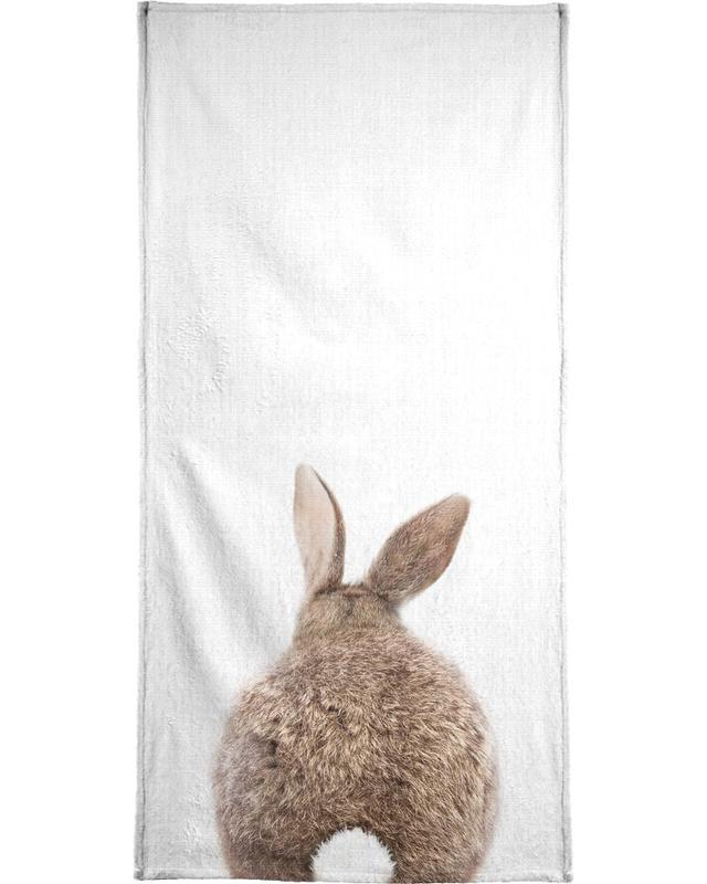 Lapins, Art pour enfants, Print 317 serviette de bain