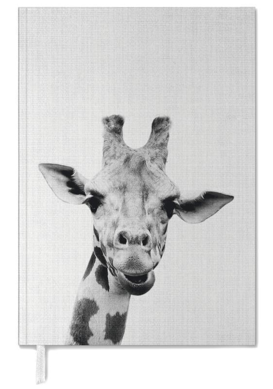 Noir & blanc, Girafes, Art pour enfants, Print 41 agenda