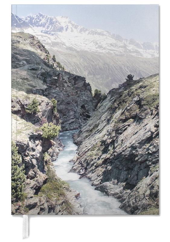 Berge, Alpenfluss -Terminplaner