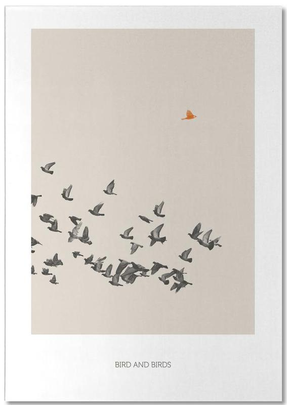 Bird And Birds -Notizblock