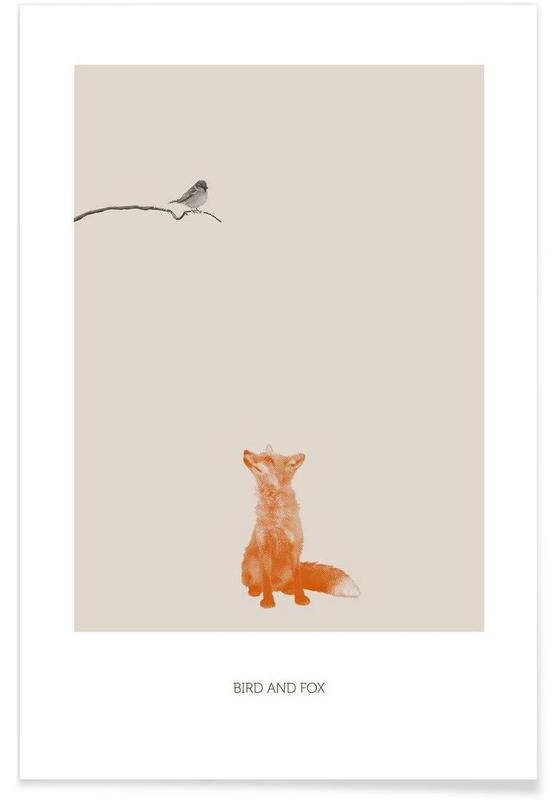 Bird And Fox -Poster
