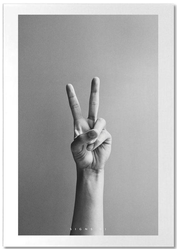 Détails corporels, Noir & blanc, Excuses, Signs  01 bloc-notes