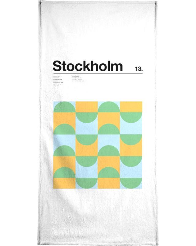 Stockholm Bath Towel