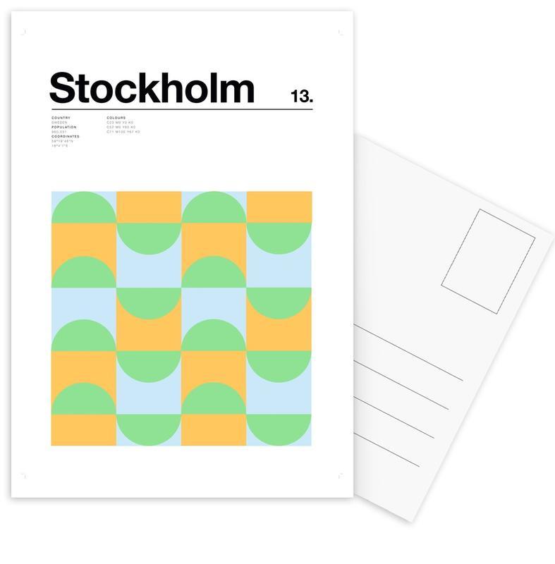 Stockholm, Stockholm cartes postales