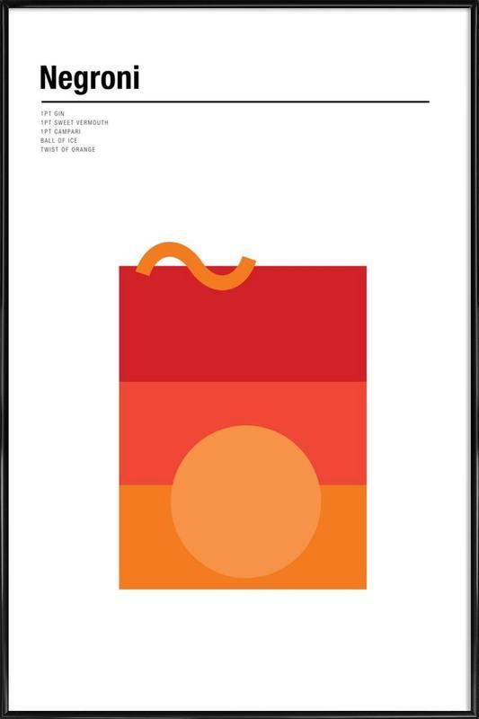 Negroni Framed Poster