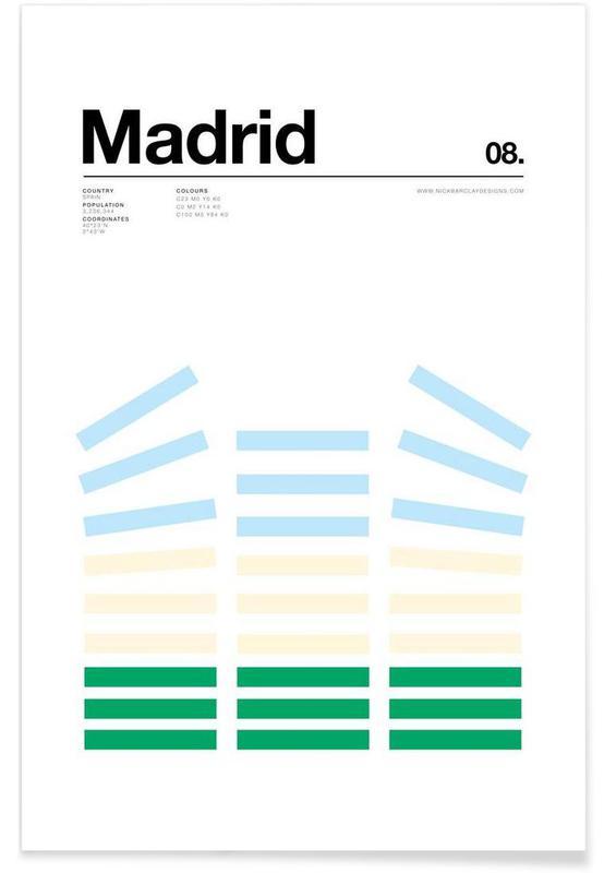 Madrid, Madrid Plakat