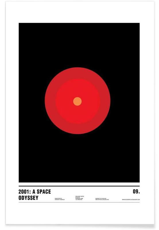 Films, 2001 A Space Odyssey poster