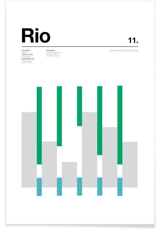 Rio de Janeiro, Rio Poster
