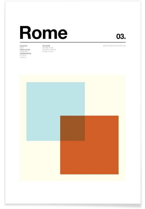 Rom, Rome -Poster