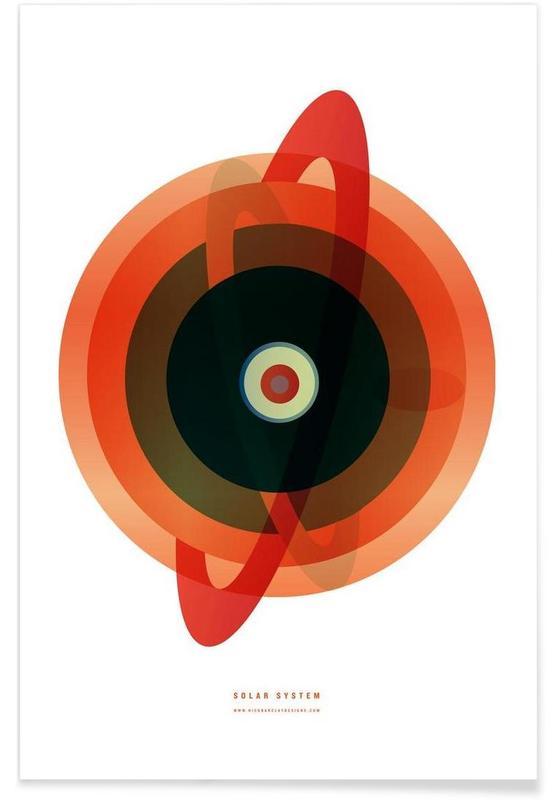 , Solarsystem Poster