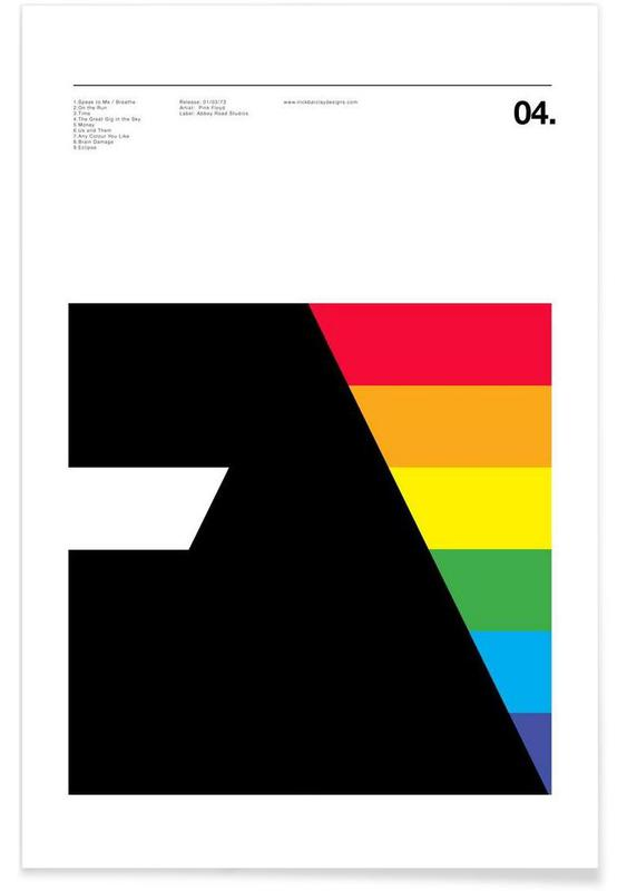 , Pink Floyd Dark Side Of The Moon poster