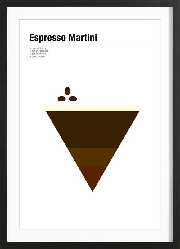 Espresso Martini Framed Print