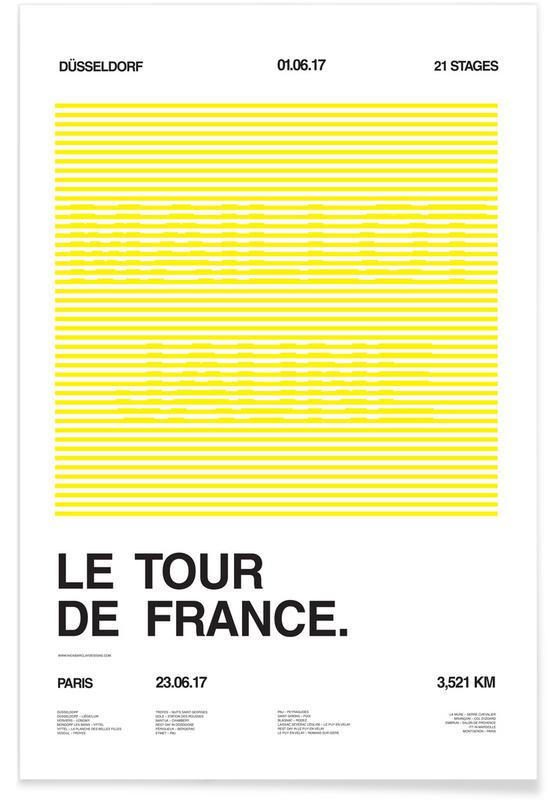 Wielersport, Maillot Jaune poster
