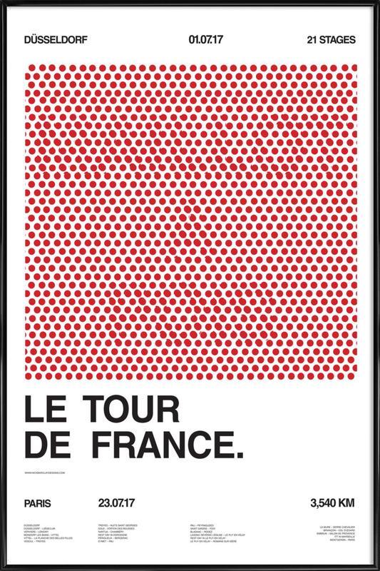 Maillot à Pois Framed Poster