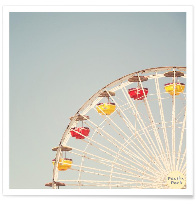 Architekturdetails, Riesenrad-Fotografie -Poster