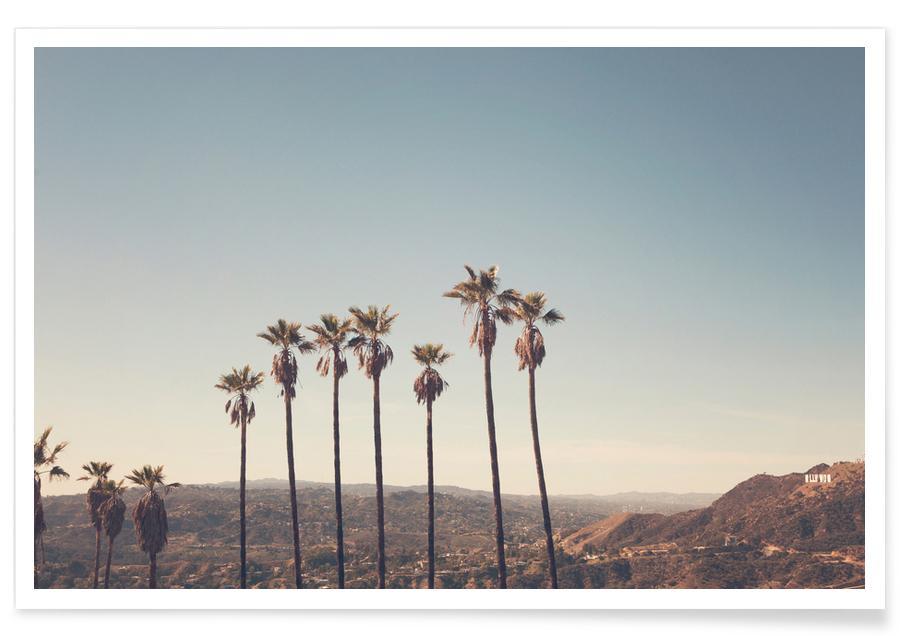 Hollywood Hills-Fotografie -Poster