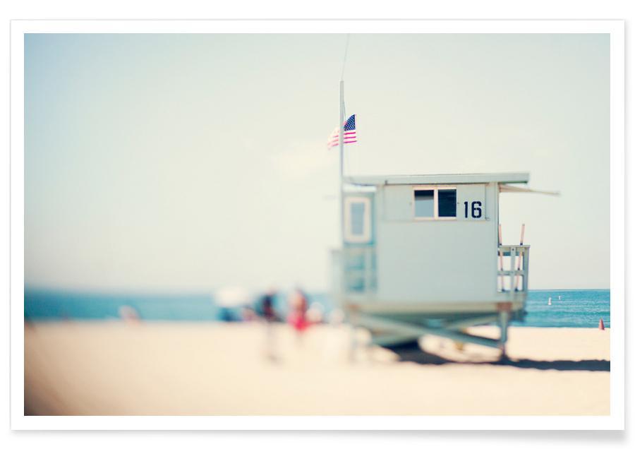 Beach House Photograph Poster