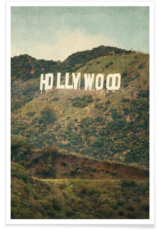 Los Angeles, Hollywood - Photographie affiche
