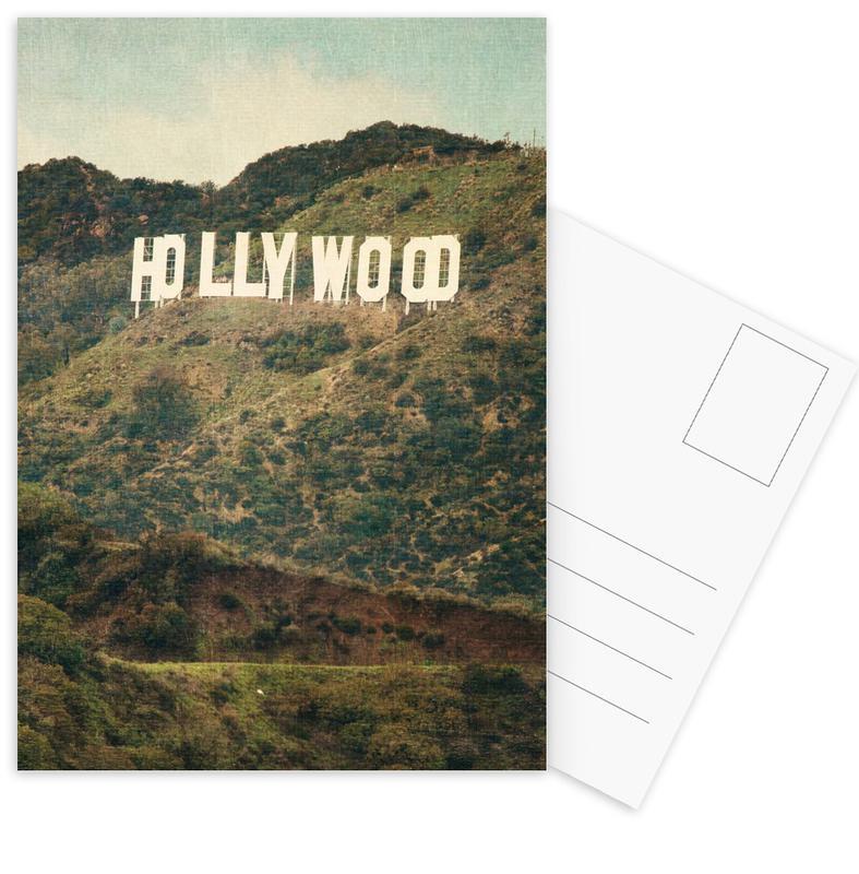 Los Angeles, Hollywood Postcard Set