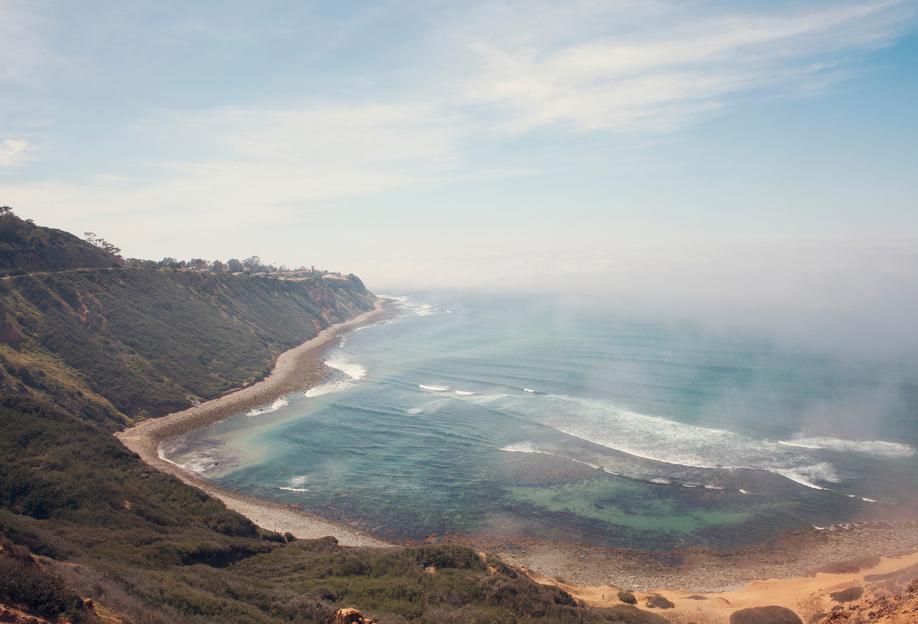 California Coast -Acrylglasbild