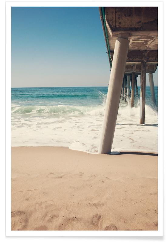 Hermosa Beach Pier-Fotografie -Poster